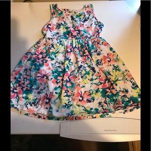 Children's place size 4t floral dress
